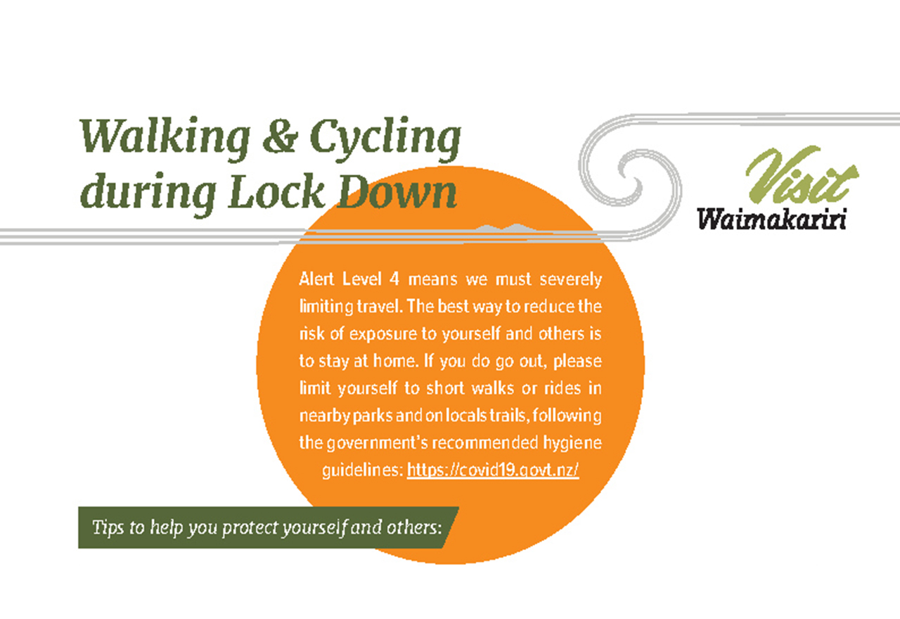 Walking and Cycling during lock down